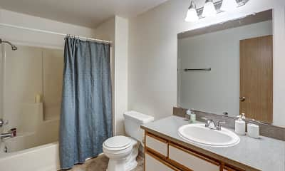 Bathroom, Ellsworth Square, 2