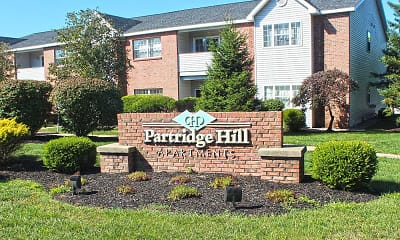 Community Signage, Partridge Hill Apartments, 0