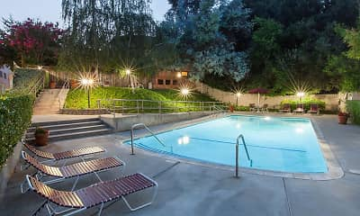 Pool, The Glens Apartments, 0