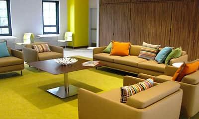 Living Room, THE BONIFANT AT SILVER SPRING, 1