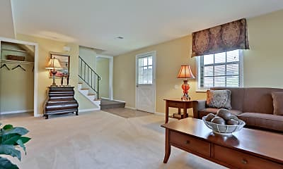 Living Room, Chapel Valley Townhomes, 1