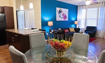 Living Room, Retreat at Fremaux Town Center, 1