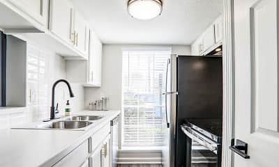Kitchen, The Lumiere Apartments, 1
