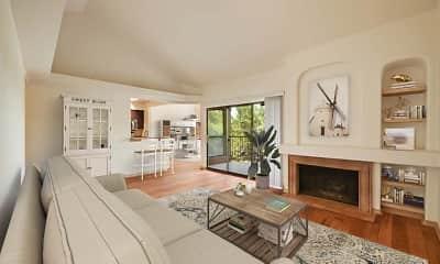 Living Room, Camden Gaines Ranch, 1