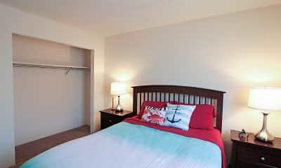 Bedroom, Riverwalk Apartments, 1