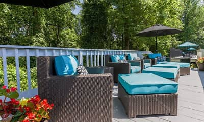 Patio / Deck, Signature Place, 2