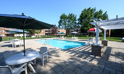 Pool, Summit House Apartments, 2