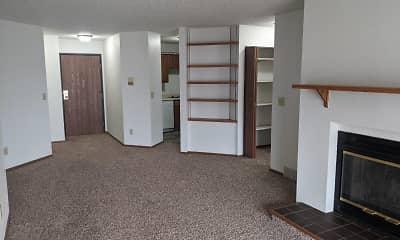 Bedroom, Kirkwood Park Apartments, 1