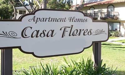 Community Signage, Casa Flores Apartments, 2