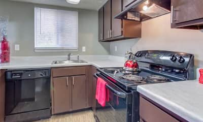 Kitchen, The Social at Tallahassee Student Living, 0