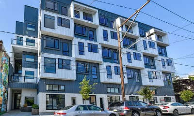 Building, Metal Works Apartments, 2