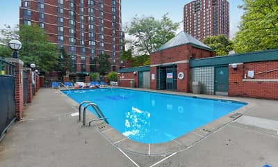 Pool, Park Place Towers, 1