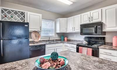 Kitchen, Chalet Apartments, 1