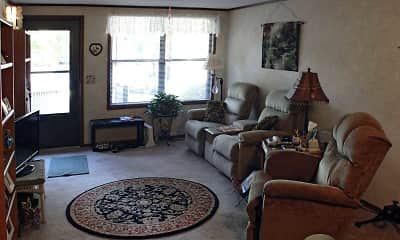 Living Room, Princeton Court, 1
