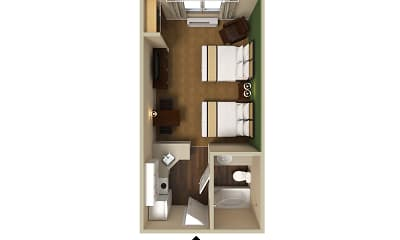 Furnished Studio - Colorado Springs - West, 2