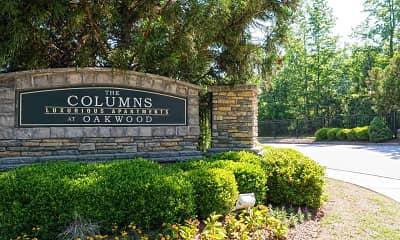 Community Signage, Columns At Oakwood, 2