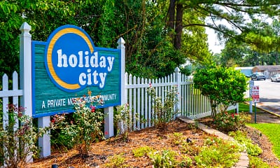 Community Signage, Holiday City, 1