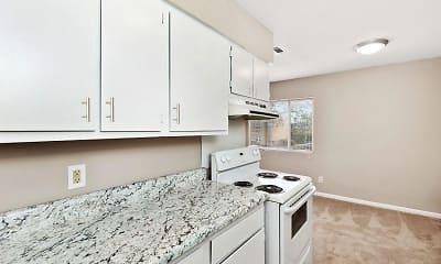 Kitchen, The Helios Apartments, 1