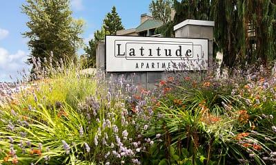Community Signage, Latitude, 2