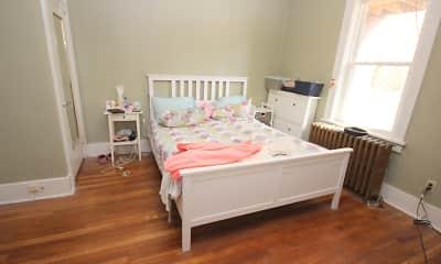 Bedroom, Squirrel Hill Apartments, 2