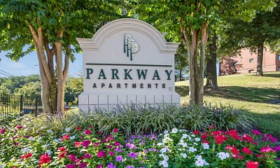 Community Signage, Parkway Apartments, 2