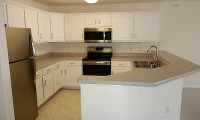 Kitchen, Nantucket Apartments, 1