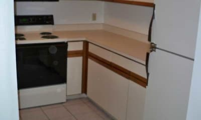Kitchen, Indian Leap Apartments, 1