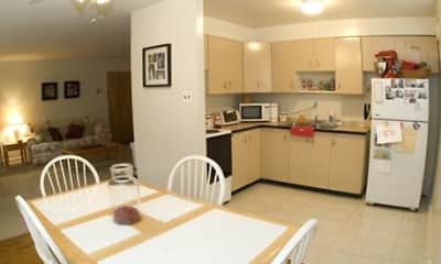 Kitchen, Springton Court Apartments, 1