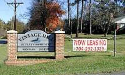 Community Signage, Vintage Hill Duplexes, 0