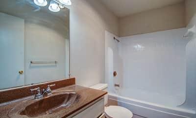 Bathroom, Woodbury Place Apartments, 2