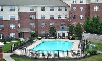 Pool, University Landing - Per Bed Lease, 2