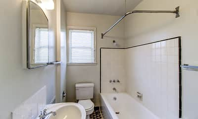 Bathroom, Edgewater Apartments, 2