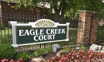 Community Signage, Eagle Creek Court, 2
