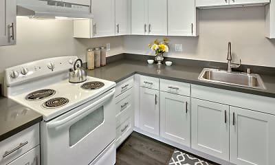 Kitchen, Quartz Creek, 1