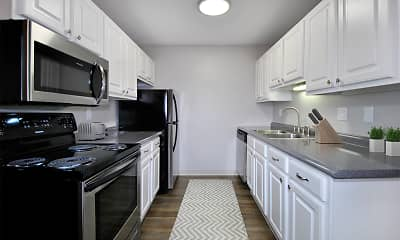 Kitchen, Foote Hills Apartments, 1