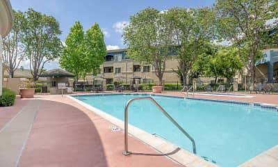 Pool, Alborada Apartments, 2