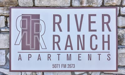 Community Signage, River Ranch Apartments, 2