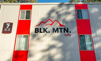 Community Signage, Blk. Mtn. Lofts., 0