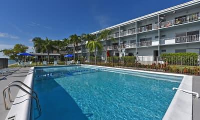 Pool, Harbor West, 1