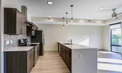 Kitchen, The Homes at Rivers Edge Apartments, 0