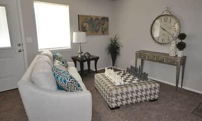 Living Room, Ridgecrest Commons, 1