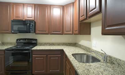 Kitchen, Summit Ridge Apartments, 0