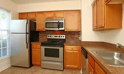 Kitchen, The Jamestown Apartments, 1