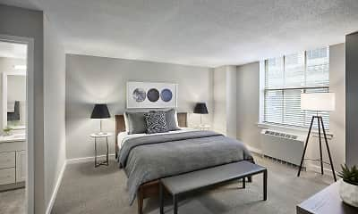 Bedroom, The Franklin Residences, 1
