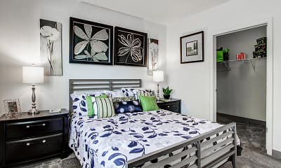 Bedroom, Oak Hill Apartments, 0