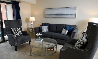 Living Room, Cromwell Valley Apartments, 0