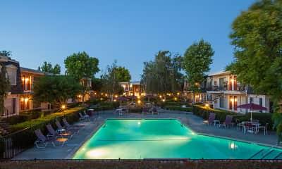 Pool, Normandy Park Apartments, 2