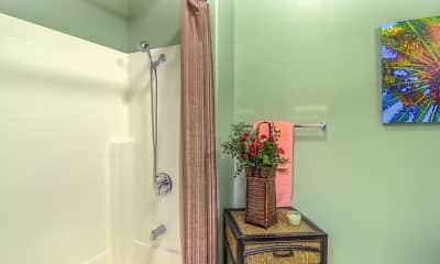 Bathroom, Emerald Isle Senior Living +55, 2