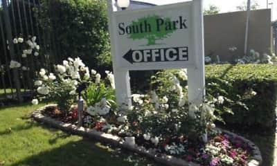 Community Signage, South Park, 1