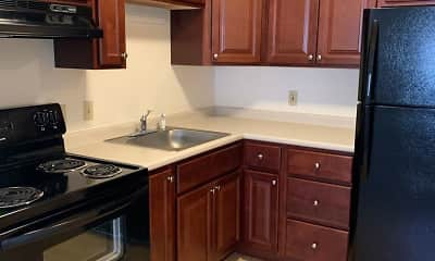 Kitchen, Briston Manor West: 55+ Senior Living, 1